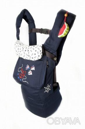 Рюкзачок освобождает руки и делает общение родителей и малыша очень близким. Ре. Одесса, Одесская область. фото 1