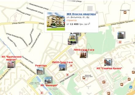 Продажа недорогих 1-2-3 комнатных апартаментов Comfort-класса в 10 минутах пешей. Голосеево, Киев, Киевская область. фото 4