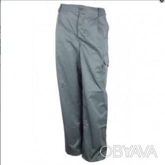 Серые рабочие брюки