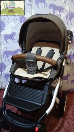 Новинка – стильная и удобная коляска Adamex Barletta. Данная модель для пр. Чернигов, Черниговская область. фото 9