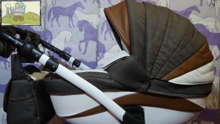 Новинка – стильная и удобная коляска Adamex Barletta. Данная модель для пр. Чернигов, Черниговская область. фото 3
