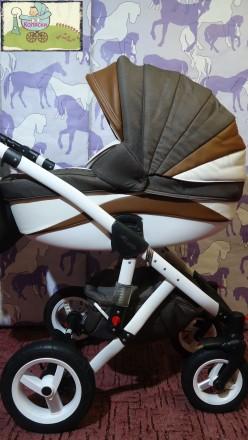 Новинка – стильная и удобная коляска Adamex Barletta. Данная модель для пр. Чернигов, Черниговская область. фото 2