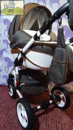 Новинка – стильная и удобная коляска Adamex Barletta. Данная модель для пр. Чернигов, Черниговская область. фото 4