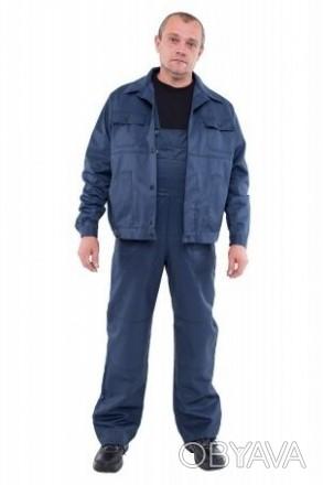 Рабочий костюм (полукомбинезон и куртка)