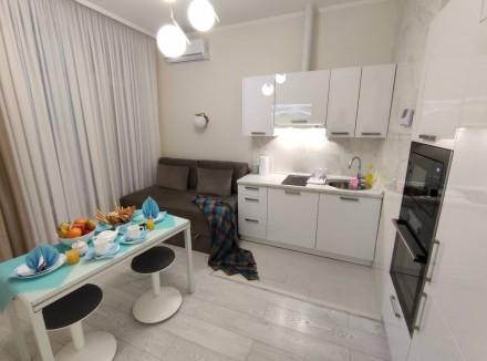 Сдаётся посуточно уютная 1комн. квартира с террасой в самом живописном районе Ар. Аркадия, Одесса, Одесская область. фото 4