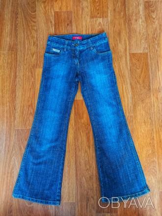 Шикарные стильные джинсы на девочку 10 лет