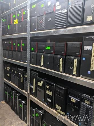 Продам компьютеры Fujitsu, Dell, Hewlett-Packard с i3, i5, i7 (2-6gen)