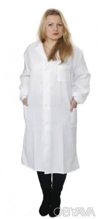 Халат женский рабочий белый