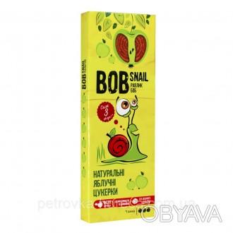 Цукерки Bob Snail яблуко, груша, малина. арт 02437