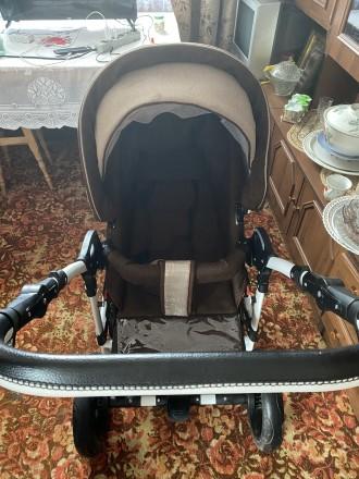 Продам коляску , у використанні була люлька 3 місяці . В комплекті дощовик , мо. Коростышев, Житомирская область. фото 6