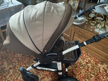 Продам коляску , у використанні була люлька 3 місяці . В комплекті дощовик , мо. Коростышев, Житомирская область. фото 4