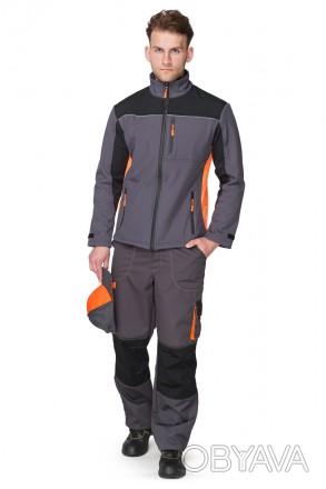 Демисезонная куртка мужская рабочая