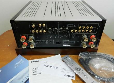 Продаю японский интегральный усилитель Yamaha A-S3000. количество каналов: 2, на. Новгород-Сіверський, Чернігівська область. фото 6