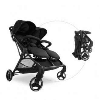 Компактна коляска для двійнят!  Стильний дизайн,який одразу впадає в око,легка. Львов, Львовская область. фото 3