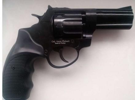 Тип оружия: револьвер под патрон Флобера Калибр, мм: 4 Длина: 190 мм Высота: . Вінниця, Вінницька область. фото 2