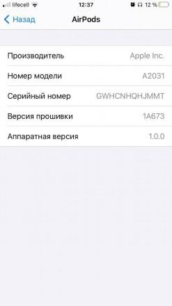 Теперь в наличии AirPods 2 LUX качества с серийными номерами в настройках телефо. Борисполь, Киевская область. фото 10