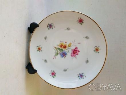 Фарфоровая тарелка 18,5 см набор 6 шт Германия Винтаж Фарфор
