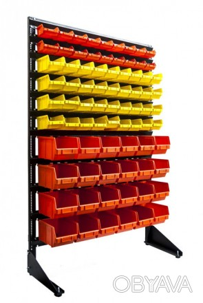 Торговый стеллаж  с ящиками под запчасти а мастерскую Запорожье