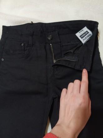 Школьные штаны. Джинсовые на мальчика с утягуешей резинкой если мальчик худеньки. Днепр, Днепропетровская область. фото 5
