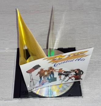 Продам Фирменный СД ZZ Top - Greatest Hits Состояние диск/полиграфия NM/VG+ -. Харьков, Харьковская область. фото 5