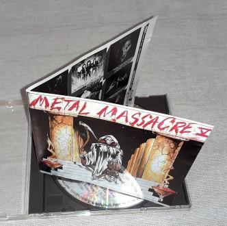 Продам Фирменный СД Metal Massacre - Vol. V Состояние диск/полиграфия NM/VG+ Н. Харьков, Харьковская область. фото 5