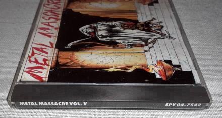 Продам Фирменный СД Metal Massacre - Vol. V Состояние диск/полиграфия NM/VG+ Н. Харьков, Харьковская область. фото 6