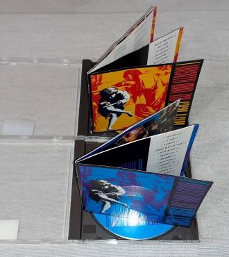 Фирменнe Guns N' Roses - Use Your Illusion I & II  Продам Фирменныe С. Харьков, Харьковская область. фото 5