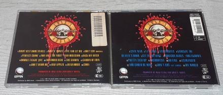 Фирменнe Guns N' Roses - Use Your Illusion I & II  Продам Фирменныe С. Харьков, Харьковская область. фото 3