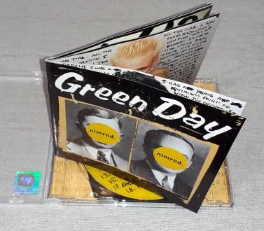 Продам Фирменный СД Green Day - Nimrod Состояние диск/полиграфия NM/VG+ - Lab. Харьков, Харьковская область. фото 5