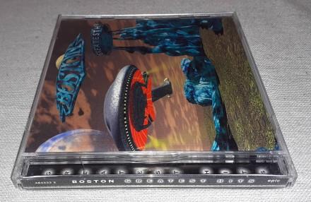 Продам Фирменный СД Boston - Greatest Hits Состояние диск/полиграфия VG+/VG+ -. Харьков, Харьковская область. фото 6