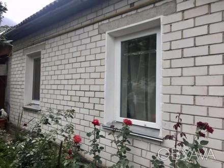 ...Часть дома общей площадью 71 м2, кухня 9м2, участок  правильной прямоугольной. Молокозавод, Чернигов, Черниговская область. фото 1