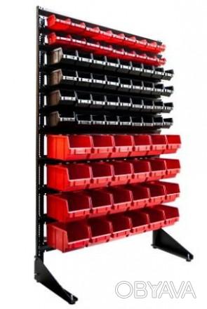 Универсальный стеллаж для метизов с ящиками для болтов Мариуполь