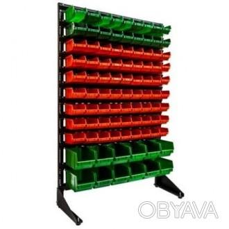 Витрина складская с контейнерами пластиковыми для хранения Чернигов