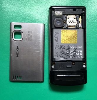 """Продаётся телефон Nokia-6500 Slide слайдер 2.2"""" камера 3.2мп 900мАч 3G. Ра. Киев, Киевская область. фото 6"""