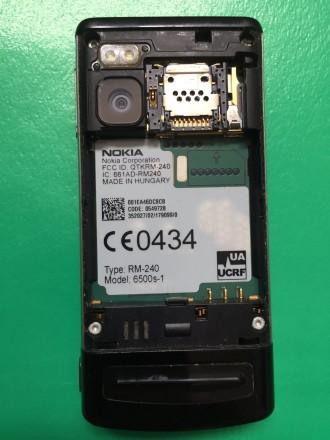 """Продаётся телефон Nokia-6500 Slide слайдер 2.2"""" камера 3.2мп 900мАч 3G. Ра. Киев, Киевская область. фото 8"""