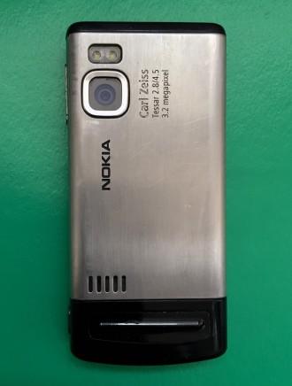 """Продаётся телефон Nokia-6500 Slide слайдер 2.2"""" камера 3.2мп 900мАч 3G. Ра. Киев, Киевская область. фото 3"""