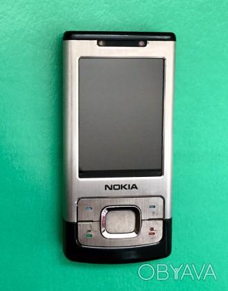 """Продаётся телефон Nokia-6500 Slide слайдер 2.2"""" камера 3.2мп 900мАч 3G. Ра. Киев, Киевская область. фото 1"""