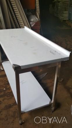 Новый Производственный стол. Стол с нержавейки 1,4 м. Оборудование