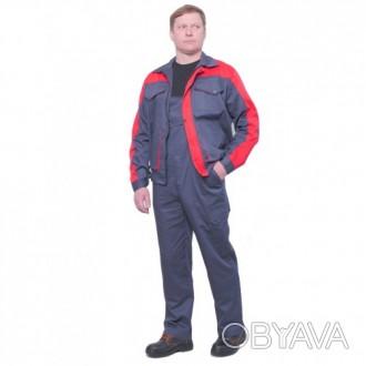 Качественный рабочий костюм из саржи