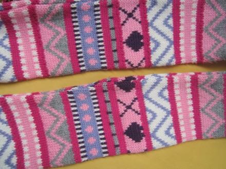 Детский красивый шарф  . Ширина шарфа 9см. Длина шарфа 103см.. Пирятин, Полтавская область. фото 5