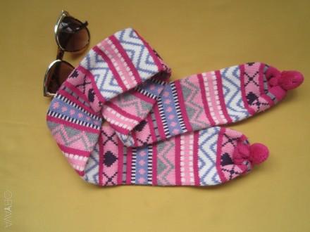 Детский красивый шарф  . Ширина шарфа 9см. Длина шарфа 103см.. Пирятин, Полтавская область. фото 3