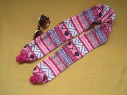 Детский красивый шарф  . Ширина шарфа 9см. Длина шарфа 103см.. Пирятин, Полтавская область. фото 2