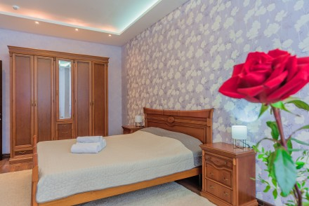 Просторная 1-комнатная квартира, выполнена в современном стиле и расположена на . Малый Фонтан, Одесса, Одесская область. фото 3