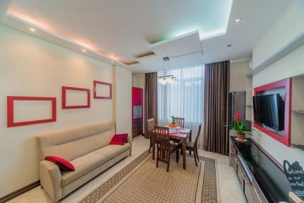 Просторная 1-комнатная квартира, выполнена в современном стиле и расположена на . Малый Фонтан, Одесса, Одесская область. фото 8