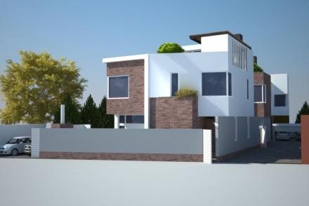 В продаже новый современный дом в частном секторе тихого спального района.В пеше. Киевский, Одесса, Одесская область. фото 4