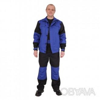 Рабочий костюм из плотной саржи