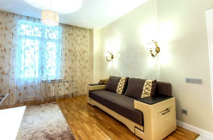 Светлая студия выполнена в современном стиле и расположена на 8 этаже 23-этажног. Приморский, Одесса, Одесская область. фото 6