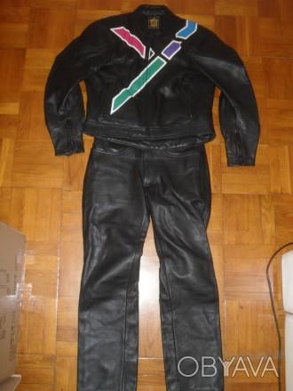 Мотокостюм кожаный IXS ( Германия ) , размер M ( 50 )