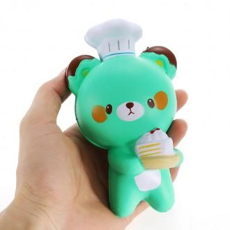 Squishy (Сквиши) 14cm Медведь Игрушка Антистресс В наличии!. Горишные Плавни. фото 1