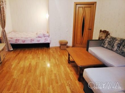 Современная однакомнатная квартира на Таирова сдается посуточно и почасово.Кварт. Киевский, Одесса, Одесская область. фото 1